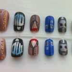 Fantastic Doctor Who Fake Fingernails [pic]