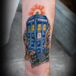 Fantastic Doctor Who TARDIS Tattoo [pic]