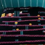 This Donkey Kong Blanket is Amazing! [pic]