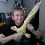 Legend of Zelda Breadstick Sword [pic]