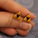 Legend of Zelda Triforce Earrings [pic]