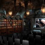 Insane Dark Knight Home Theater [pics]