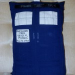 Doctor Who TARDIS Pillow [pic]