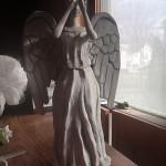 DIY: Weeping Angel Christmas Tree Topper [pic]