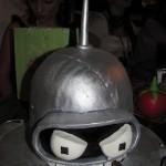 Futurama Bender Head Cake [pic]