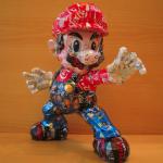 Impressive Mario and Luigi Made From Aluminum Cans [pics]