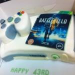 Xbox 360 with Battlefield 3 Birthday Cake [pic]