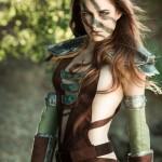 Stunning Skyrim Aela The Huntress Cosplay [pic]