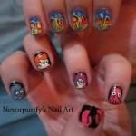 Fantastic Futurama Fingernail Art [pic]