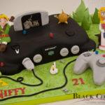 Spectacular Legend of Zelda Nintendo 64 Cake [pic]