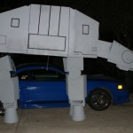 This Giant Star Wars AT-AT Costume Requires Two People to Wear [pics]