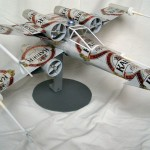 Star Wars X-Wing Fighter Made From Recycled Beer Cans [pic]