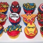 Amazing Superhero Cupcakes [pic]