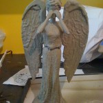 DIY Weeping Angel Barbie Doll [pic]