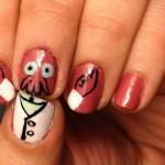 Need a Manicure?  Why Not Zoidberg Fingernail Art! [pic]