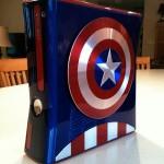 Amazing Captain America Xbox 360 Case Mod [pics]
