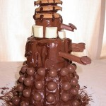 This Chocolate Dalek Cake is a Chocolate Overload [pic]