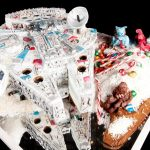 Amazing Millennium Falcon Gingerbread Ship [pic]