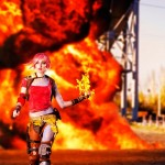 Spectacular Lilith Cosplay from Borderlands 2 [pics]