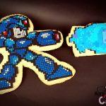 Amazing Pixelated MegaMan Cookies [pic]