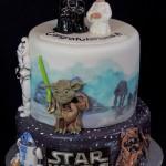 Adorable Star Wars Wedding Cake [pic]