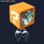 This Awesome Super Mario Bros Question Block Shirt is $10 TODAY ONLY! [pic]