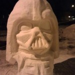 Darth Vader Snow Sculpture [pic]