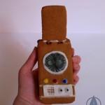 Gingerbread Star Trek Communicator [pic]