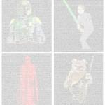 Return of the Jedi Script / Screenplay Art Posters [pic]