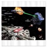 Star Wars Art Shower Curtain [pic]