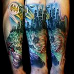 One of the Best Batman and Joker Tattoos Ever [pic]