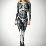 Pussycat Doll Ashley Roberts In Crysis 3 Nanosuit Body Paint Cosplay