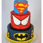 Superman, Spider-Man and Batman Make for One Spectacular Superhero Cake [pic]