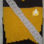Star Trek TNG Worf Uniform Knitted iPad Case [pic]