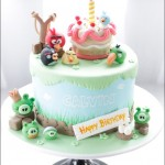 Incredibly Cute Angry Birds Birthday Cake [pic]