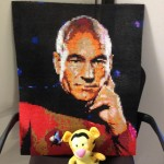 Captain Picard Made in Beads
