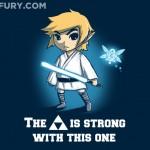 This Epic Legend of Jedi Shirt Combines Star Wars and Legend of Zelda