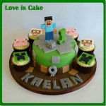 These Minecraft Cake and Cupcakes Are Blocky Goodness