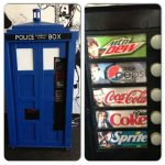 This TARDIS Pop Machine is Fantastic!