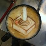 Atari Latte Art [pic]