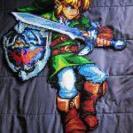 Spectacular Legend of Zelda Link Bead Art [pic]