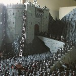 Incredible Lord of the Rings Helms Deep LEGO Sculpture [pics]