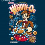 Whovi-Os Sounds Like a Doctor Who Cereal But is Actually a Cool Shirt!