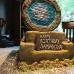 An Amazing Stargate Birthday Cake