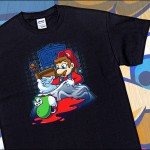 Amazing Super Mario and The Godfather Mashup T-Shirt On Sale for $11