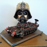 Awesome Steampunk Darth Vader Tank