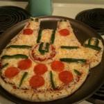 Millennium Falcon Pizza