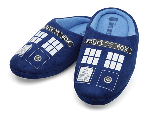TARDIS Slippers
