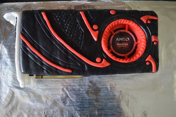 AMD Radeon GPU Cake