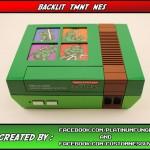 This Back-lit Teenage Mutant Ninja Turtles NES Mod is Spectacular!